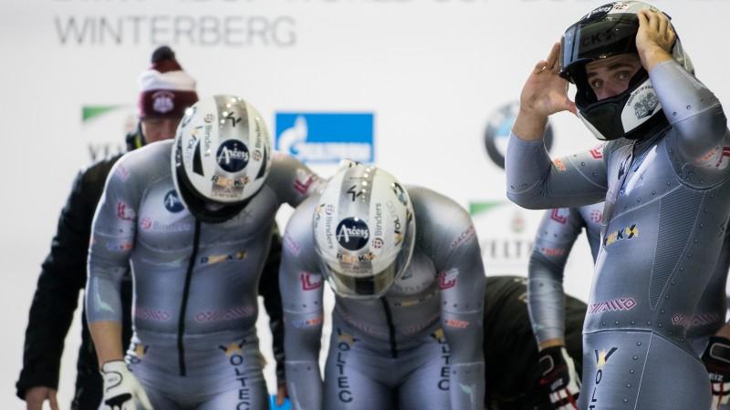 Stūmēji trijatā aizstumj Ķibermani līdz 11. vietai, Bērziņam Īglsā 20. rezultāts