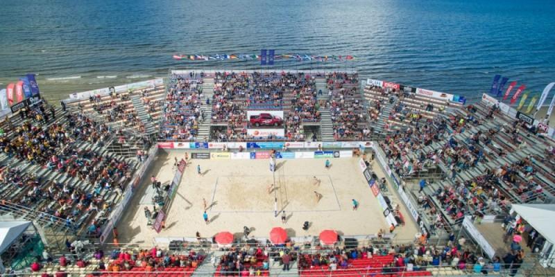 Jau 1. augustā varētu atsākties starptautiski volejbola turnīri ar skatītājiem
