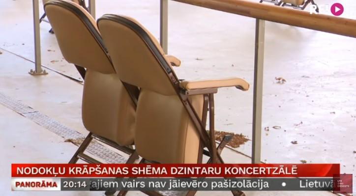Dzintaru koncertzāles oficiāls paziņojums dārgo krēslu lietā