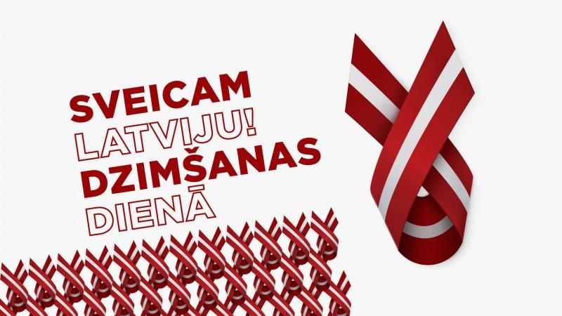 Valsts svētkos Rīgas kultūras centri piedāvā pasākumus tiešsaistē un izgaismotu Brīvības piemineklis