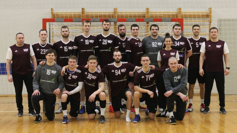 Arī otrajā treniņspēlē pārliecinoša uzvara Latvijas izlases handbolistiem
