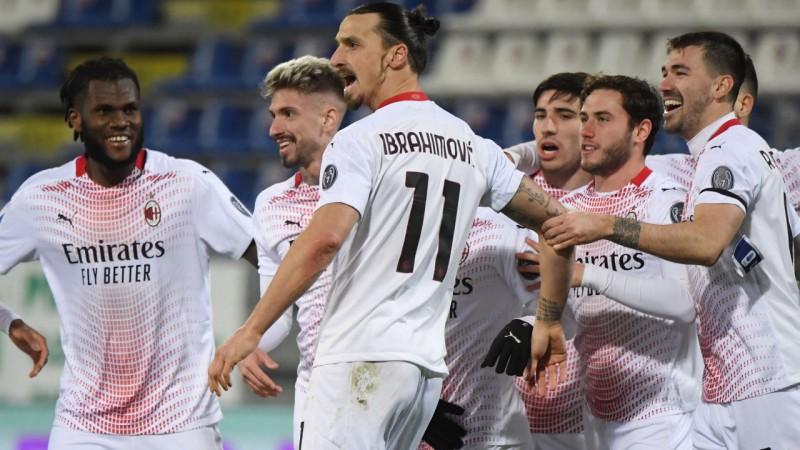 Ibrahīmoviča divi vārti atnes ''Milan'' uzvaru un nostiprināšanos līderos