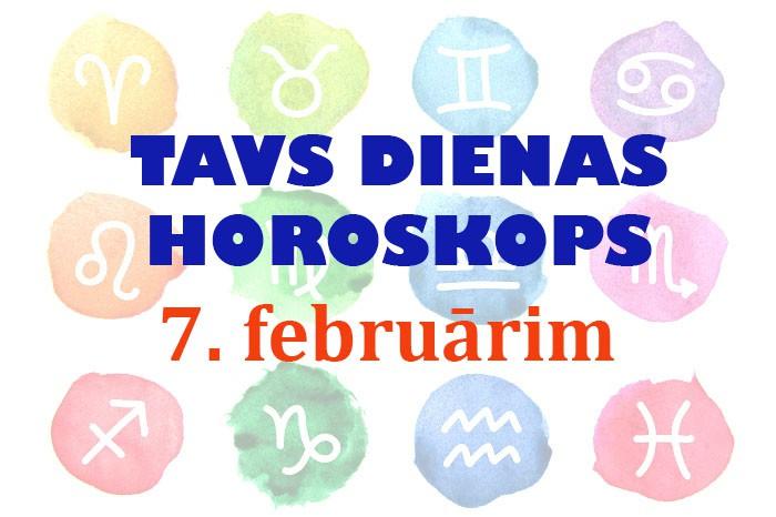 Tavs dienas horoskops 7. februārim