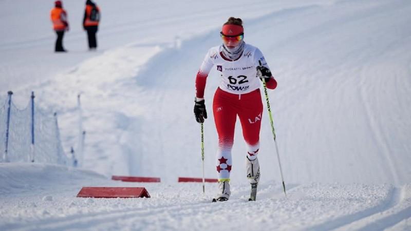 Latvijas slēpotājas pasaules čempionātā atzīstami veic komandu sprintu