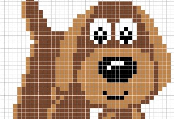 Izšūšanas shēmas ar suņiem taviem rokdarbiem