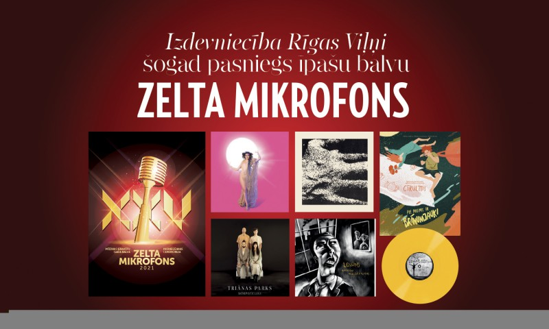 Pirmo reizi Zelta Mikrofons tiks pasniegts kategorijā Labākais albuma dizains