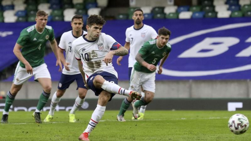 ASV pārbaudes spēlē uzvar Ziemeļīrijā, Grieķija pārspēj Hondurasu