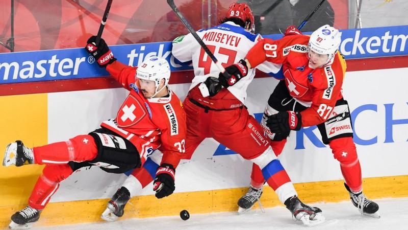 Šveice otro dienu pēc kārtas pārspēj Krieviju, Čehija atspēlējas pret Vāciju