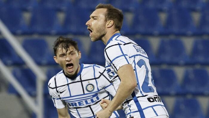 ''Inter'' otrajā puslaikā pieveic pastarīti, čempiontitulu var nodrošināt jau rīt