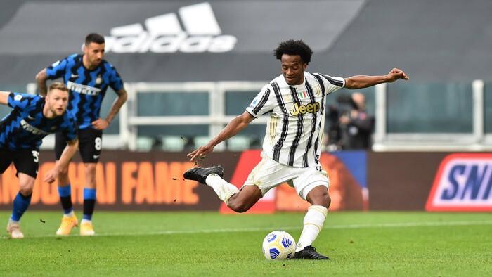 Kvadrado mazākumā izrauj ''Juventus'' svarīgu uzvaru pret čempioni ''Inter''