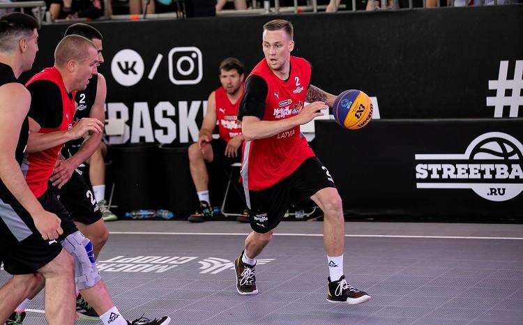 """""""Riga"""" 3x3 basketbolisti pēdējās sekundēs zaudē """"Ub"""" un noslēdz """"Moscow Open"""""""
