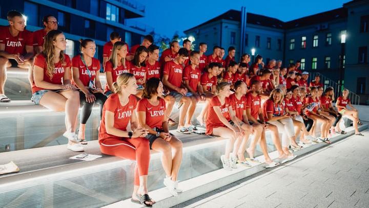 Nosaukts Latvijas izlases sastāvs dalībai Eiropas komandu čempionātā