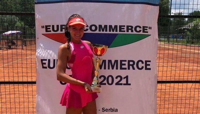 Darja Semeņistaja Serbijā pirmoreiz uzvar ITF vienspēļu turnīrā