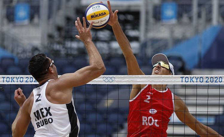 Stojanovskis/Krasilņikovs ar nepārliecinošu spēli knapi pieveic meksikāņus