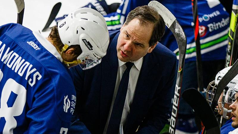 OHL bijušo ''Dinamo'' treneru Ankipāna un Ābola duelis, čempione uzņems ''Liepāju''