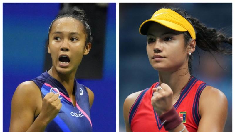 """Fernandesa un Radukanu sacentīsies pirmajā tīņu """"Grand Slam"""" finālā kopš 1999. gada"""