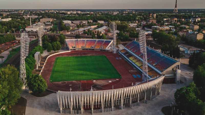 Sāk sporta laukumu projektēšanas darbus Daugavas stadionam