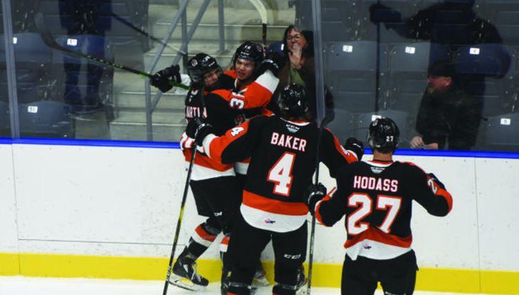 Hodasam uzvaras vārti un rezultatīva piespēle WHL mačā